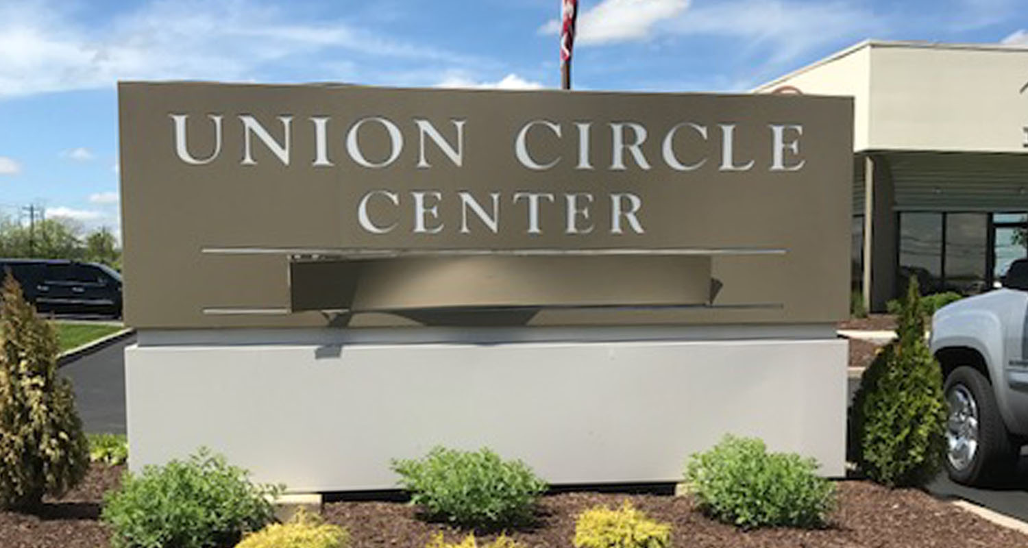 Union Circle Center Sign